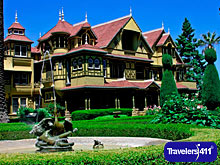 Click here to visit the Travelers411 Directory for Winchester Mystery House