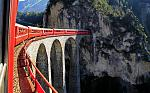 The Glacier Express is one of Switzerland's most scenic trains, offering a truly must-experience rail journey.