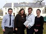 Conor Donnelly (The Beech Hill Country House Hotel), Mary Blake (Tourism Officer Derry City Council), Stephanie Abrams and Lorna O'Donnell (Rural...