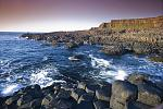 The Giant's Causeway exhibiting the drama and beauty for which it is famed.