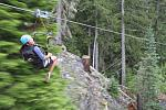 Time to fly. Superfly ziplines, Whistler, B.C.
