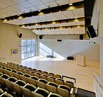The Arthur Bell Auditorium at the Harwood Museum of Art in Taos, New Mexico.