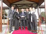 Irelands current President, Micheal D Higgins called in to the hotel for a coffee in June of 2012!