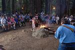 Enjoy a sing-a-long campfire on our Moonlight Special excursion.