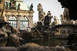 Sculptures in the Dresden Zwinger.  Photo: © Sven Döring for Dresden Marketing Board