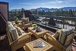 Lake Tahoe Resort Hotel's balcony suites offer stunning views of the lake and Mount Tallac.