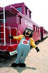 ALL ABOARD: ADVENTURE WITH A TEDDY BEAR     This one's for the kids (of all ages, of course). It's a ride on the Cumbres & Toltec Scenic Railroad...