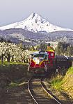 The Mount Hood Railroad, located in scenic Hood River, Ore.