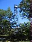 The Mt. Nimham Fire Tower in Kent