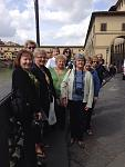 The Women's Travel Group in Tuscany outside Lucca