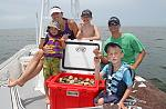 A Florida pastime, families can go scalloping July 1 - Sept 28 and experience this underwater Easter egg hunt.