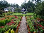Beautiful gardens, including the Colonial Revival King's Garden, highlight Ticonderoga's layered legacy that spans centuries.