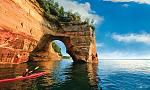 Pictured Rocks National Lakeshore Photo Credit: Midwest Living Jason Lindsey