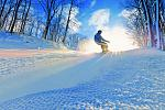 Snowboarding at Treetops Resort in Gaylord Photo Credit: Pure Michigan