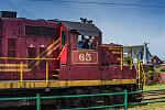 #65 Diesel Engine in Fort Bragg with Engineer Waving