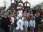 Belvedere has year round events and the Easter Bunny is always a favourite.