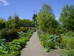 Belvdere's Victorian Walled Garden, is at its best May until August.