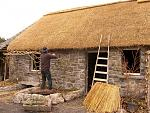The Re-Building of Katie's Cottage, by local Galway photographer Caroline Walsh