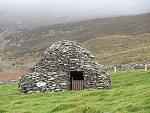 'Beehive hut' (stone house from early medieval period) to be found on 'hold a baby lamb' farm.  Roofed using the corbelling technique, with no...