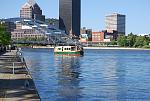 See Rochester from the Genesee River, the source of power that built the city!