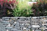 Our dry laid stone wall
