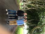 "the ""boys"" at Dark Hedges"