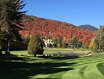 WFCRfoliage1  Fall foliage on the grounds of the Whiteface Club and Resort are not to be missed.