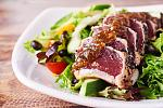 Try Pounders Restaurant's house favorite, The Ahi Tataki Salad! Made with raw ahi coated with sesame seeds and roasted garlic, pan seared and on a...