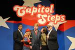 Group shot of the Capitol Steps.