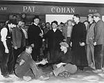 The big fight outside Pat Cohan's Bar in Innisfree - the fictional name given to Cong in The Quiet Man