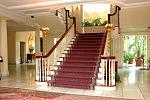 Grand staircase, mansion
