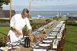 Chatham Bars Inn farm-to-table dinner on the lawn with views of the Atlantic Ocean