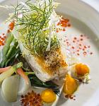 The View - Halibut is a popular entree at The View Restaurant when in season