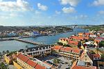 Fort Fort Amsterdam Punda rooftop view Anna Bay Juliana bridge Curaçao