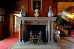 Fireplace in the Main Hall. Photograph courtsey of Kirk Guida.