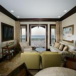 Presidential Suite Living Room View of the Beach