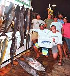 YELLOWFIN TUNA and WAHOO!!   Makaira 850-374-0458