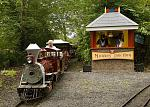 Miniature train in the Pirate Adventure Park at Westport House