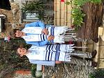 B'nei Mitzvah twins celebrate at Ner Tamid del Sud.