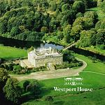 Aerial view of Westport House in County Mayo.