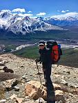 Hiking the backcountry of Patagonia in Argentina
