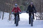 Fat Biking is welcome at most ski areas