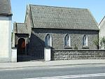 Moneygall Chapel of Ease which was the schoolhouse in Kearneys time and where Fulmouth Kearney the President's 3rd Great Grandfather attended school