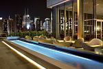 PRESS Lounge -   Our Lounge located on the 16th floors gives breath-taking unobstructed view of the midtown Manhattan Skyline and Hudson River  ...