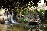 The Delta Atrium at Gaylord Opryland Resort has a 1/4-mile-long river complete with riverboat rides.