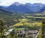 Bow River Valley--Banff, Alberta, Canada