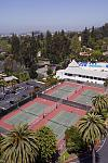 The Claremont features 10 outdoor tennis courts