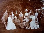 Leslie Family at Castle Leslie in 1905, at the Golden Wedding of Sir John Leslie and Lady Constance, whose mother Minnie Seymour was the 'adopted'...