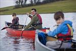 Canoeing on Lough Erne