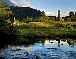 Glendalough Monastic Settlement, located in the beautiful County of Wicklow, serene and so peaceful